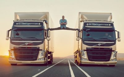 Volvo Trucks – The Epic Split with Van Damme – GREAT Product benefit Ad